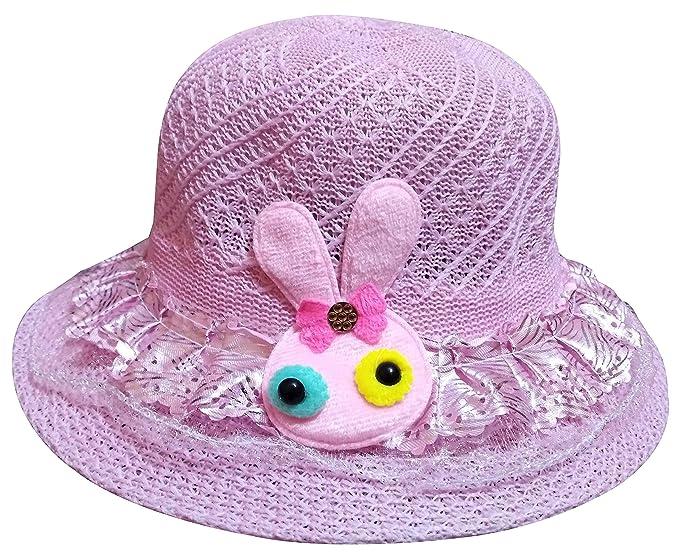 MISMIL Girl Kids Summer Hats Round Cap Sun Protection caps for Girls ... f54b995d326