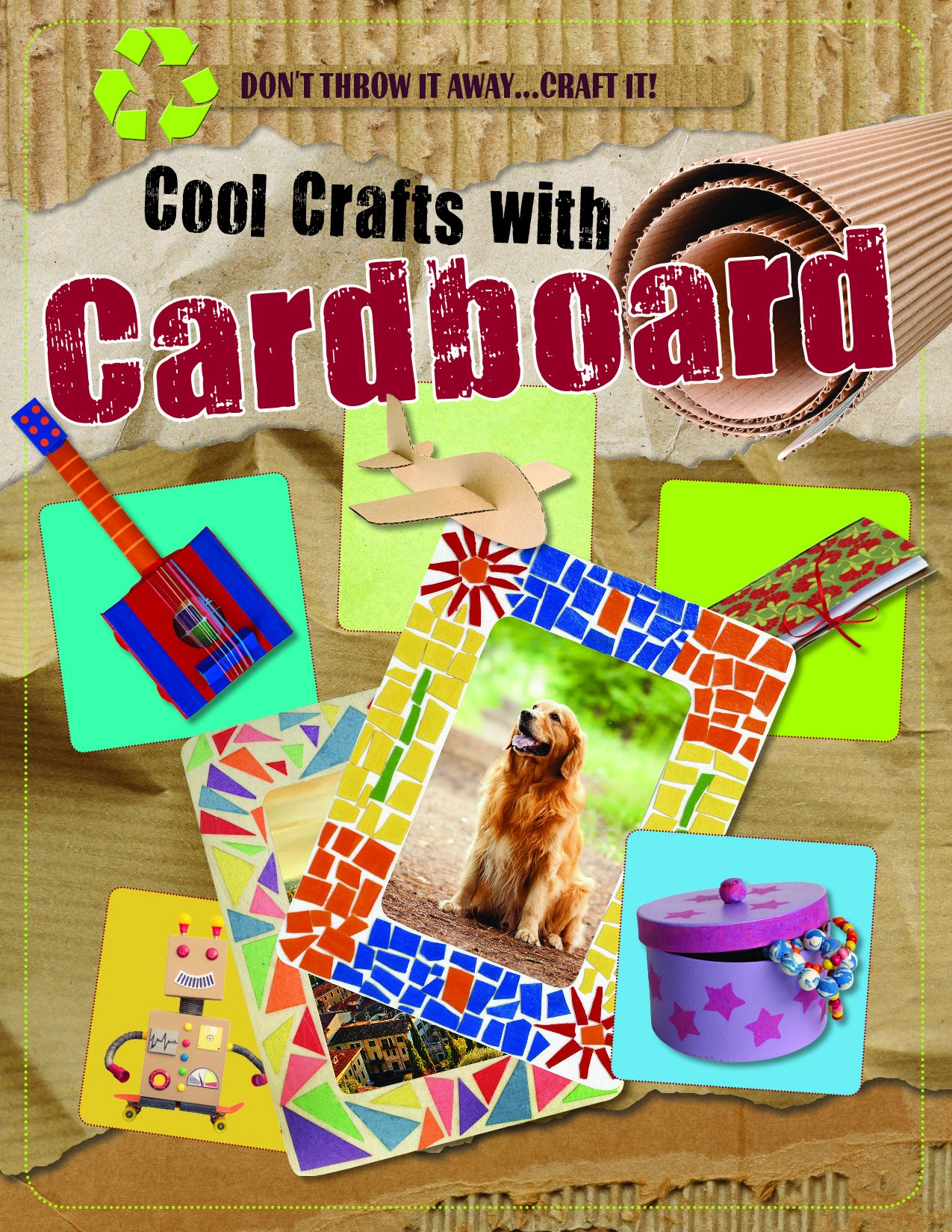 Cool Crafts With Cardboard (Don't Throw It Away...Craft It!)