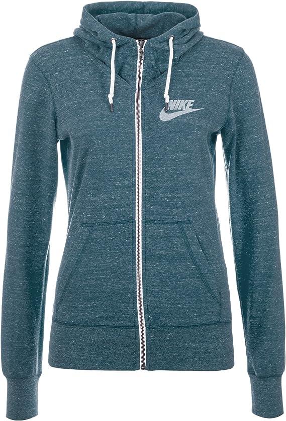 Nike NSW Gym Vintage Pull en Maille à Capuche pour Femme