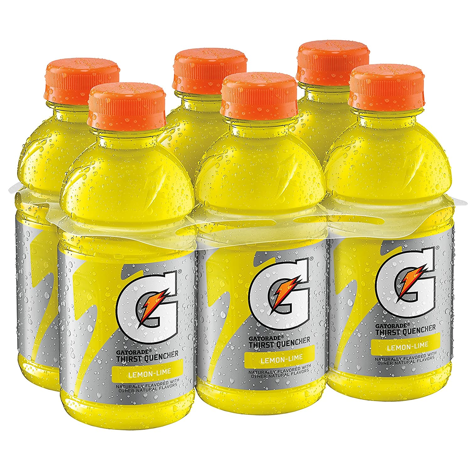 Gatorade Thirst Quencher, Lemon Lime, 12 Ounce (Pack of 6)