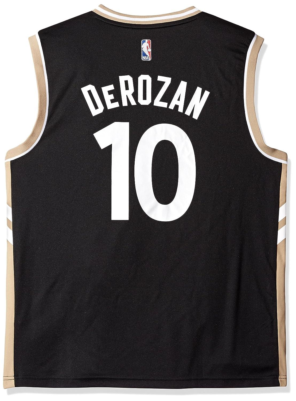 half off c2133 88eb3 NBA Toronto Raptors DeMar DeRozan #10 Men's Replica Jersey, XX-Large, Black