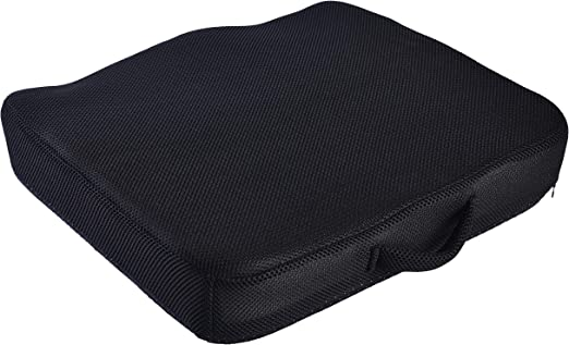 Amazon Com Aeris Large Memory Foam Seat Cushion For Office Chairs