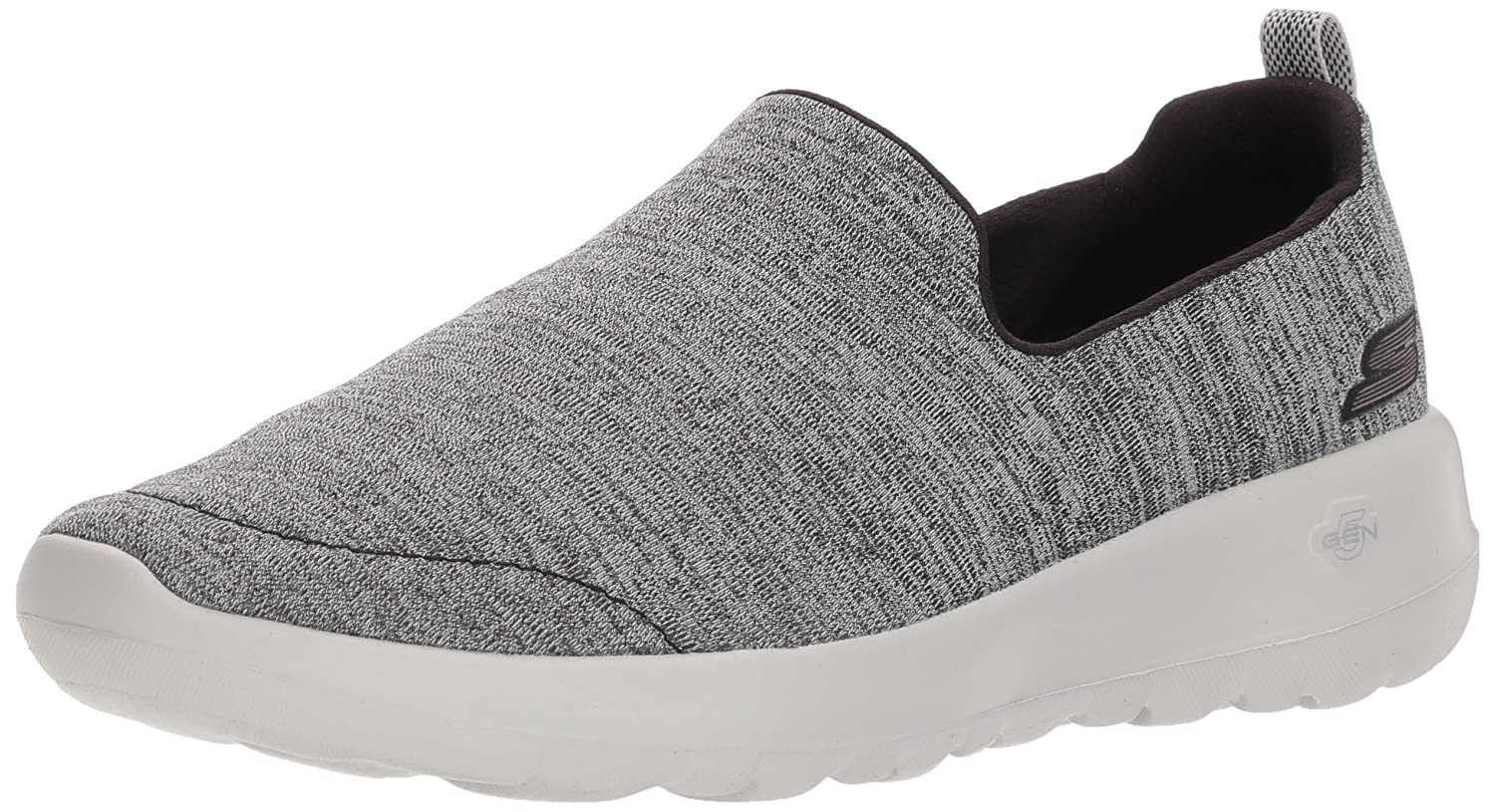 Skechers Women's Go Walk Joy-15611 Sneaker B07535XZ1J 12 B(M) US|Black/Gray