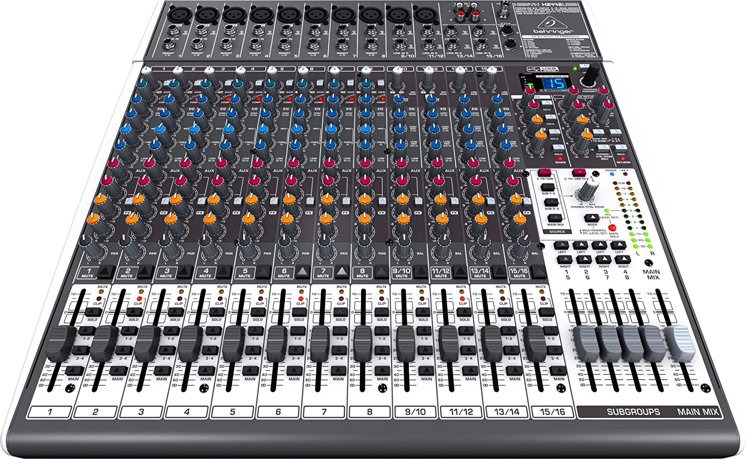 Tables de mixage d 39 enregistrement for Table de mixage xpress 6 keywood