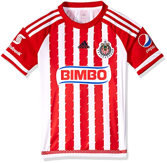 a57f3f61dd7 Adidas Jersey Chivas Guadalajara H JSY Y para Jóvenes, Color Rojo, Talla XL