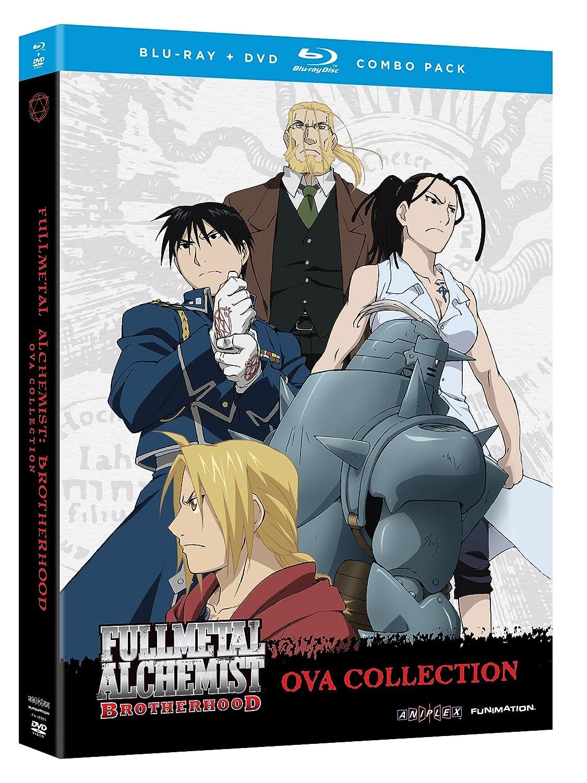 Fullmetal Alchemist Brotherhood Ova Collection USA Blu-ray: Amazon.es: Fullmetal Alchemist Brotherhoo: Cine y Series TV