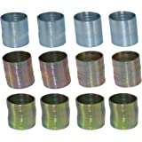 Mini Metal Coil Spring Toy - Pack Of 12 Slinky Party Favors