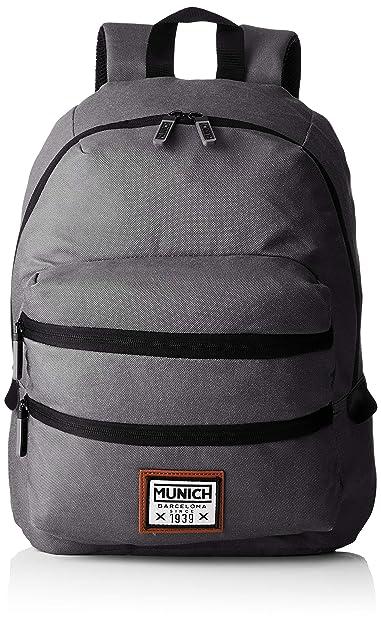 Adulto Pacht Backpack Munich Nero black Unisex Zaini Ii 8Xpzq