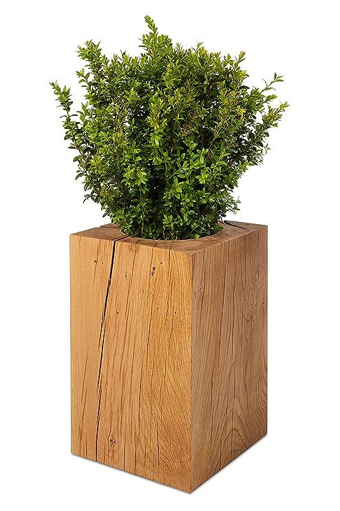 Green Hogar Natural Wohnen De Tronco Macetero Natural