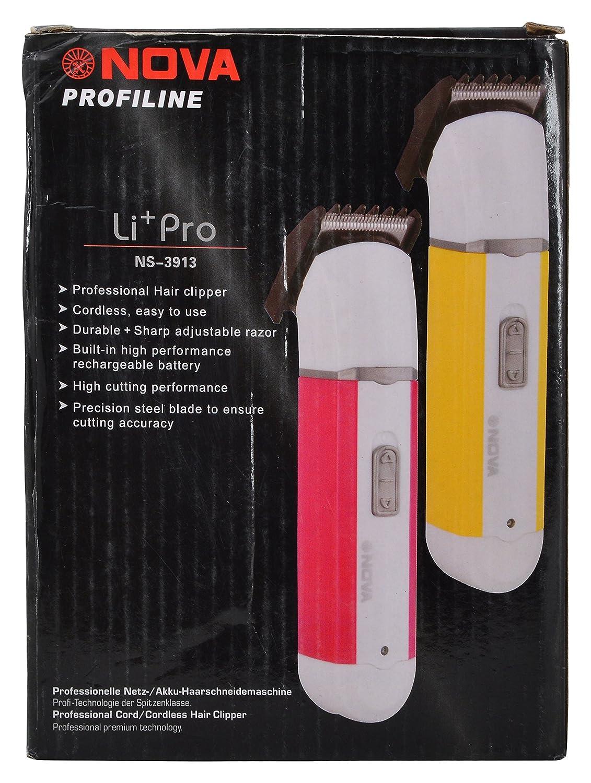 Nova Professional Hair Clipper – Model Li+ Pro NS-3913