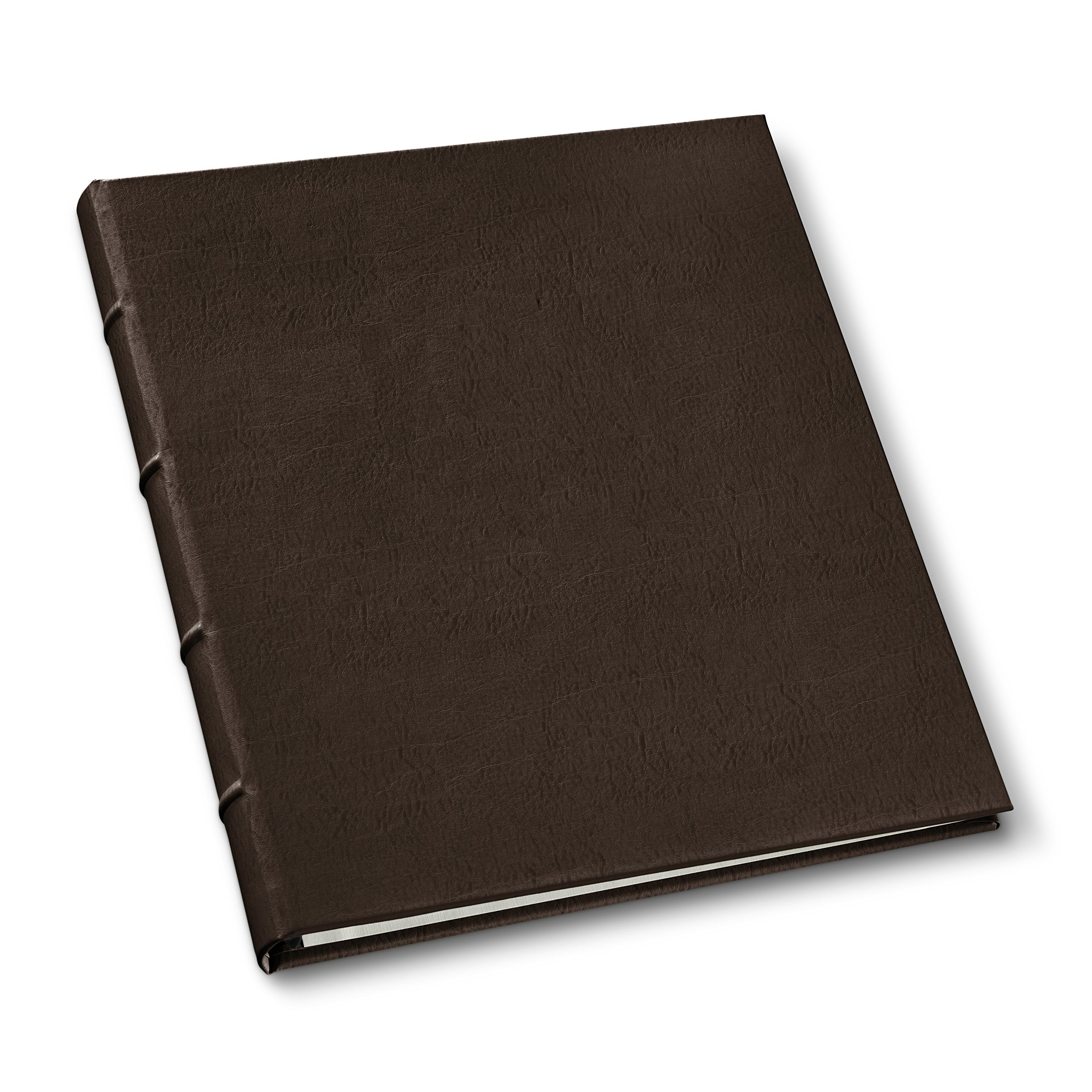 Gallery Leather Presentation Binder .75'' Hubbed Spine Freeport Mocha by Gallery Leather