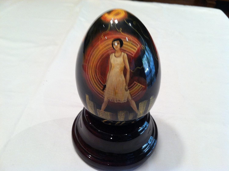 【国内正規品】 Reuge音楽Unique Hand B014XAX0LI Painted Chacago EggからMusical