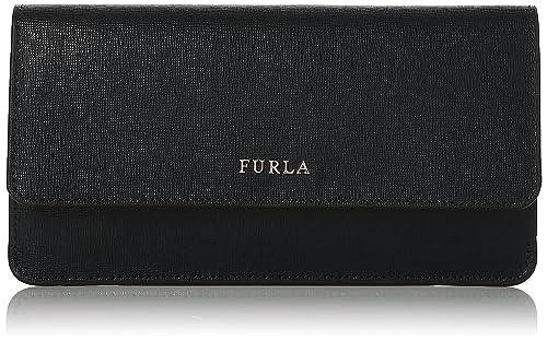 Babylon Xl Bifold, Womens Wallet, Black (Onyx), 1x10x19 cm (B x H T) Furla