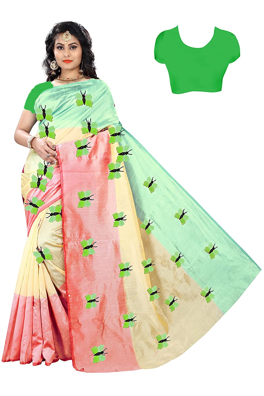 Buy Saree Vaansi Sarees Below 500 Rupees For Women Party Wear Latest Design New Collection Silk Sarees Offer Designer Saree Collection 2017 In Latest Saree With Designer Free Size Beautiful For Women