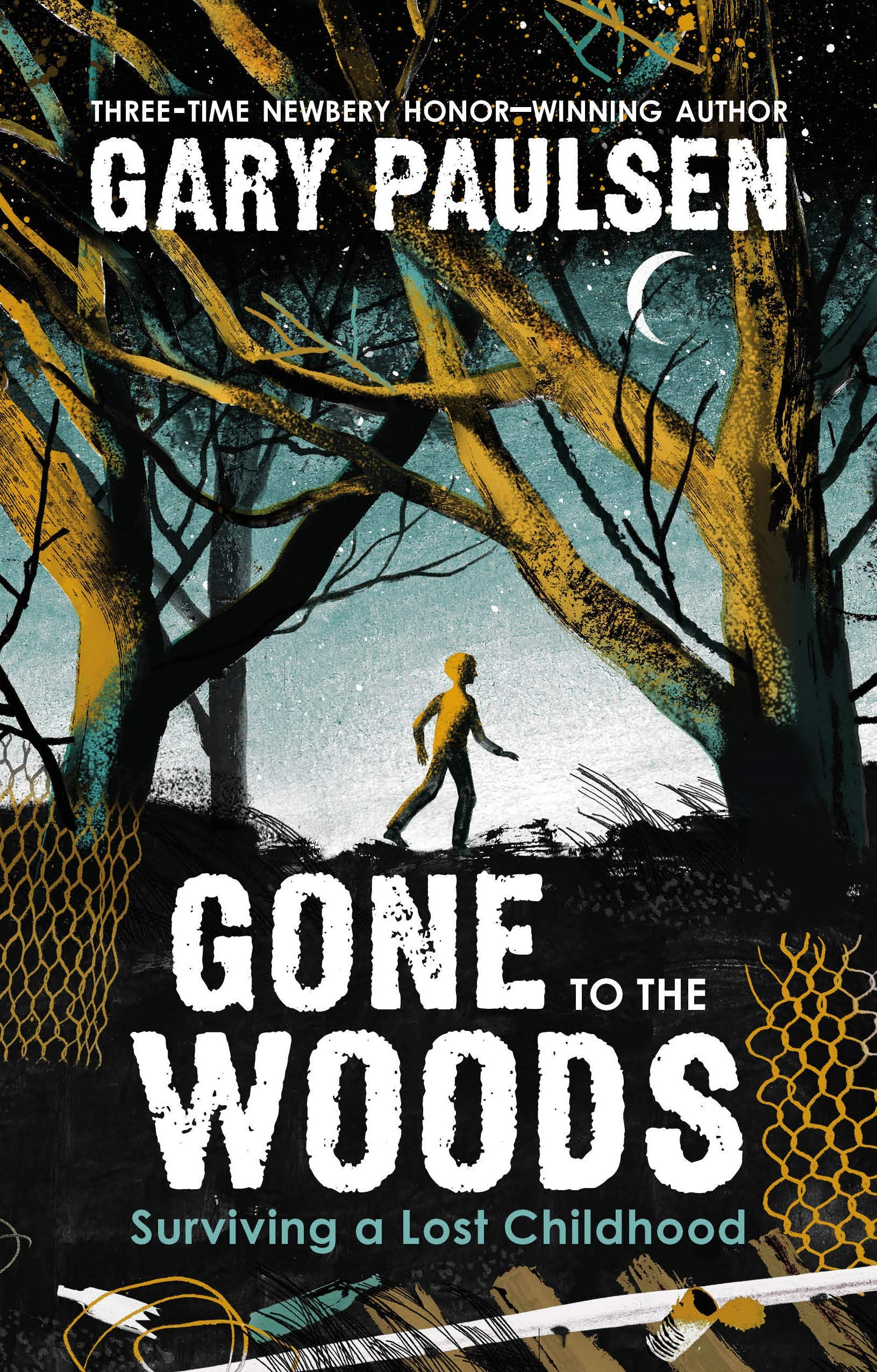 Gone to the Woods: Surviving a Lost Childhood: Paulsen, Gary:  9780374314156: Amazon.com: Books