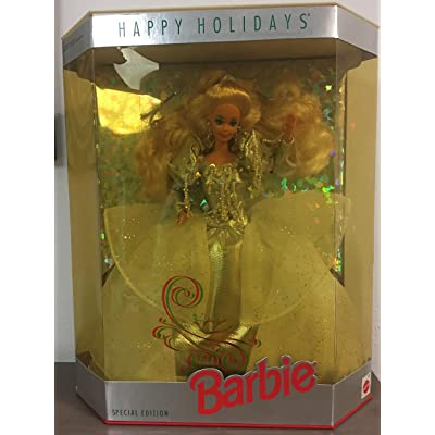1992 Holiday Barbie Doll: Toys & Games