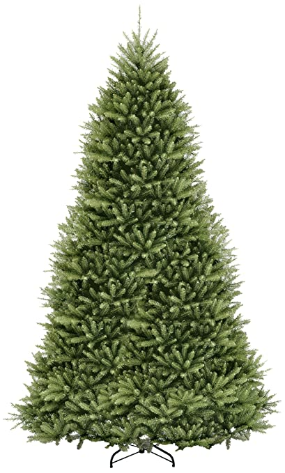 national tree 12 foot dunhill fir tree hinged duh 120 - Real Christmas Tree Decorated