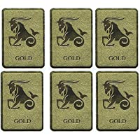 Shreenathji Trading Gold Anti Radiation Chip/Patch for Mobiles/Tablets/Microwaves/Television/Laptops (Gold) - Set of 6 Pcs