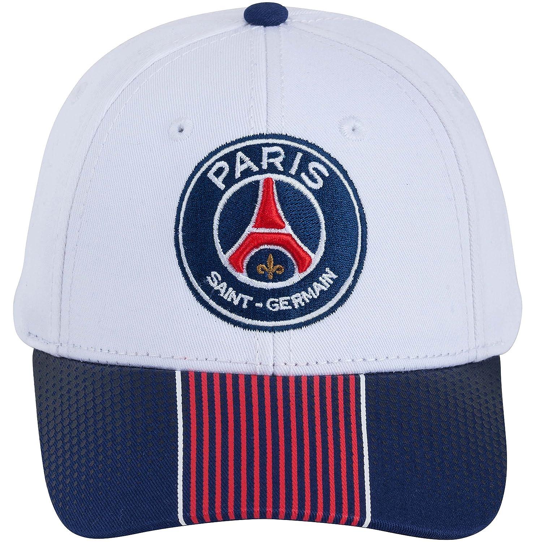 558f689e72c6c Casquette PSG - Collection officielle PARIS SAINT GERMAIN - Taille adulte  homme: Amazon.fr: Sports et Loisirs