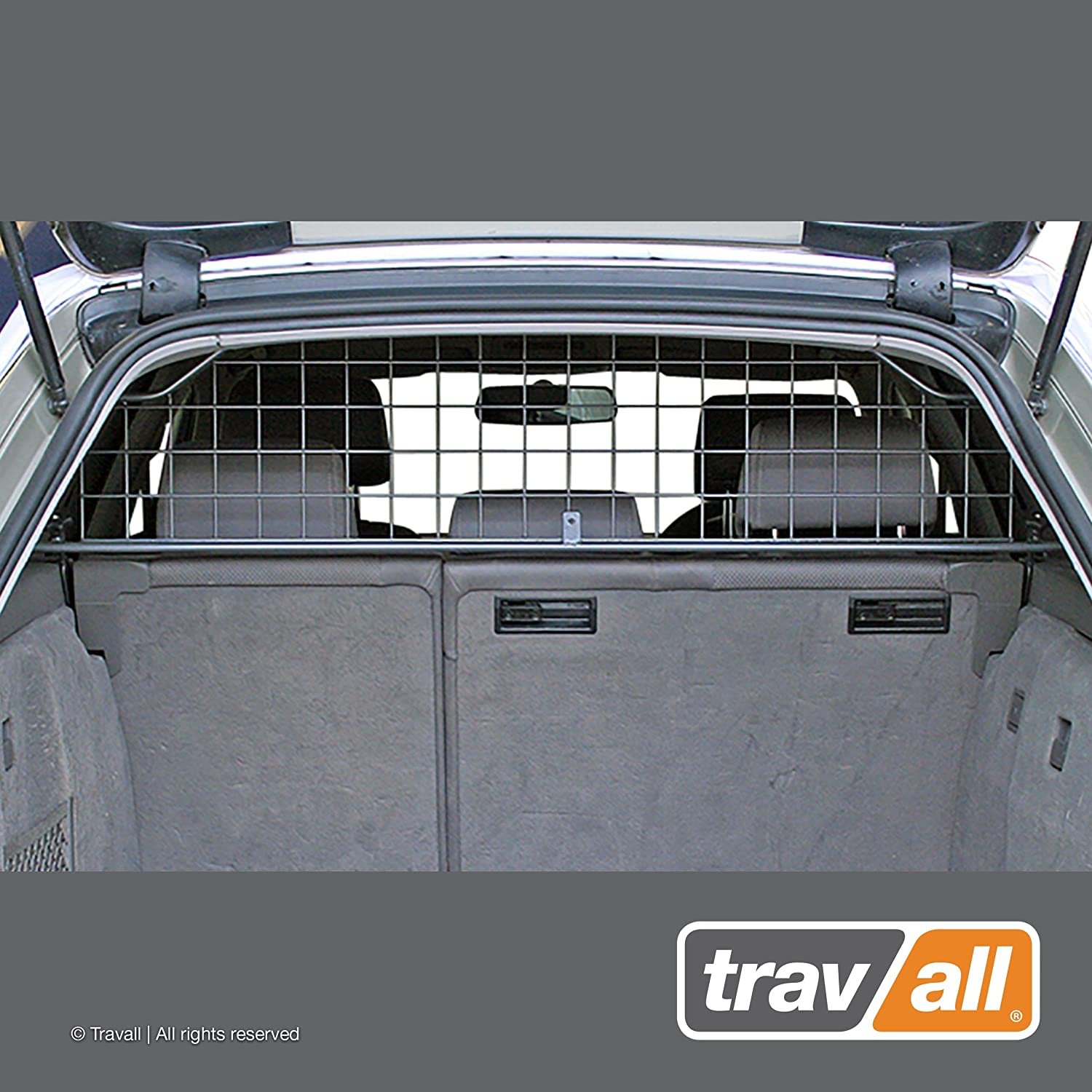 Travall Guard Compatible with Audi A4 Avant 2001-2008 RS4 Avant 2006-2008 S4 Avant 2002-2008 TDG1293 – Rattle-Free Steel Pet Barrier