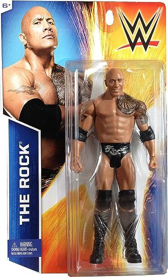 Mattel, WWE Basic Series Exclusive, The Rock Action Figure: Amazon.es: Juguetes y juegos