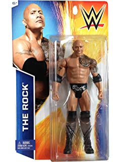 WWE The Rock Mattel Toys Mattel Wrestlemania 30 Champions Series Exclusive Action Figure