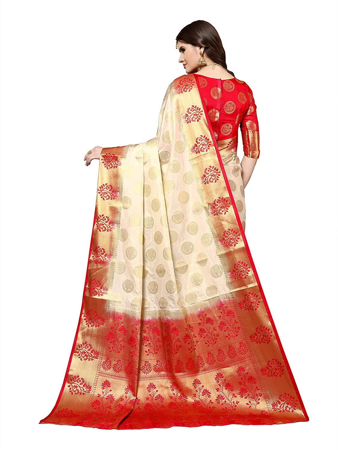 Silk with Blouse Piece Saree Collection