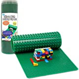 "Brick Building Play Mat by SCS - Rollable, 2-Sided Silicone Playmat - 32"" Long for Activity Tables (Patent Pending)"