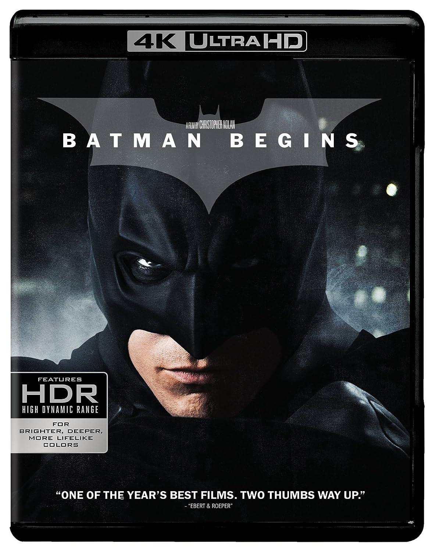 Amazon.com: Batman Begins (Ultra HD/BD) [Blu-ray]: Christian ...