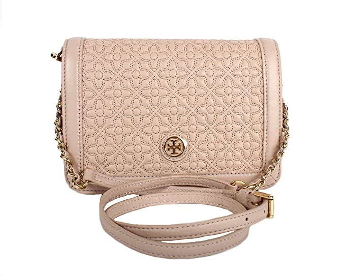 b3550629153 Tory Burch Bryant Ladies Small Quilted Combo Leather Crossbody Bag  18169684208  Amazon.ca  Watches