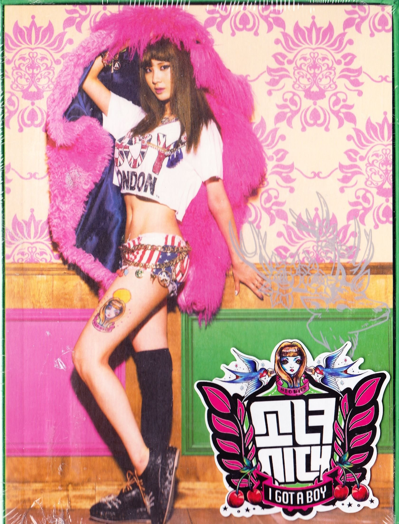 Girl's Generation SNSD Vol.04 ''I Got a Boy'' SeoHyun Ver. (K-pop/ KOREA Edition) by Girl's Generation
