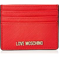 Love Moschino Womens Economic SLG Wallet, Red, One Size