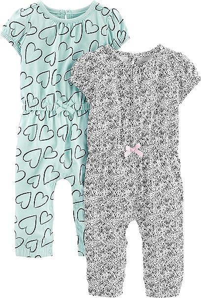 Simple Joys by Carters Infant 4-Piece Playwear Set Bimba 0-24