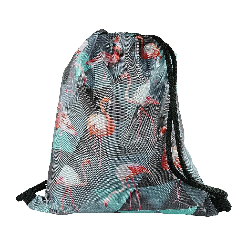 ジムバッグスポーツのための巾着袋休日のための軽量の防水ナイロンバックパック   B07JZ8KPGD