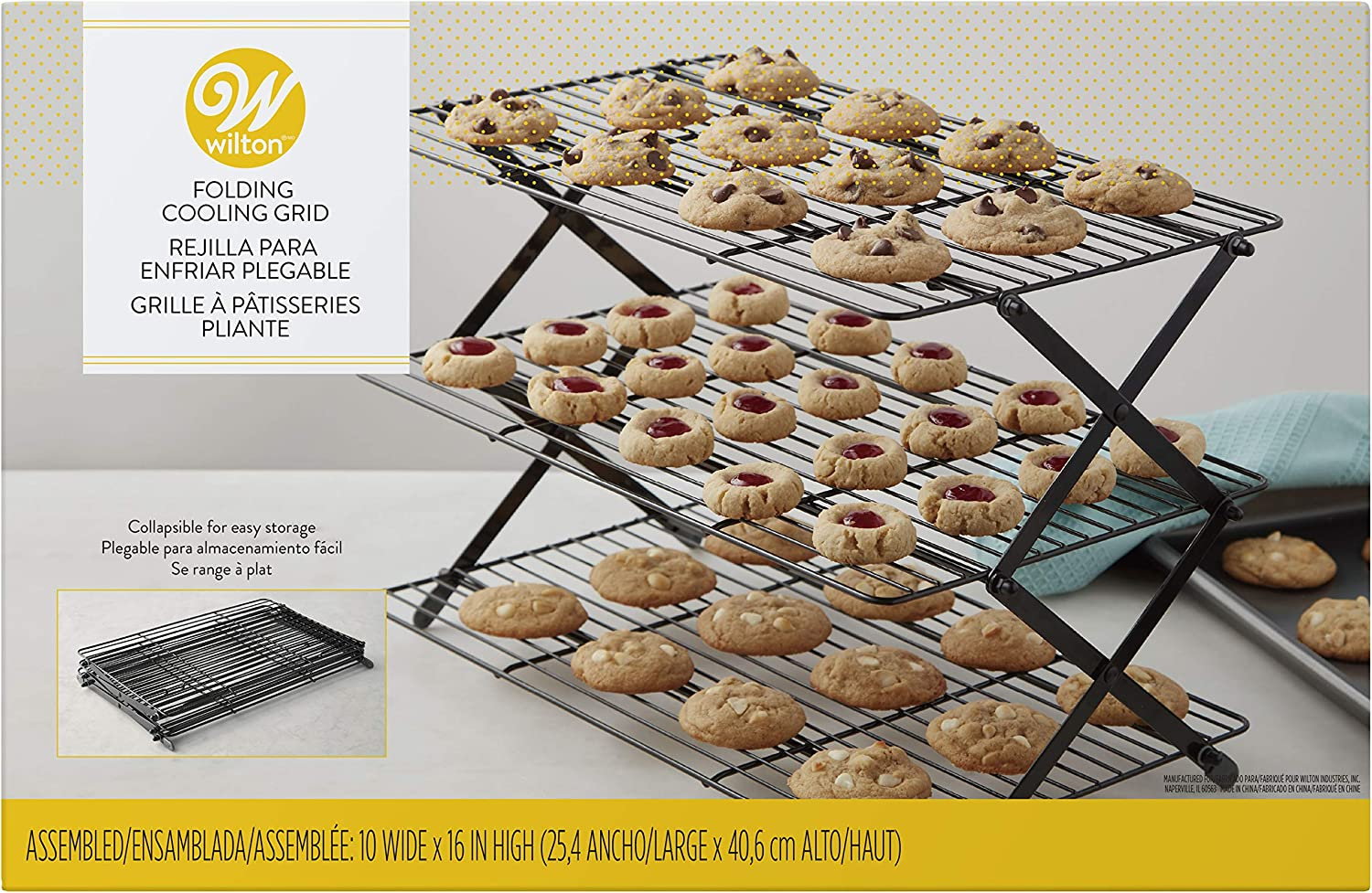 Wilton 3-Tier collapsible cooling rack.