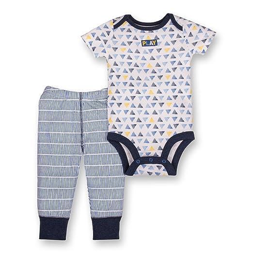 fea2f85625f9 Amazon.com  Lamaze Baby Boys Organic 2 Piece Bodysuit and Pant Set ...