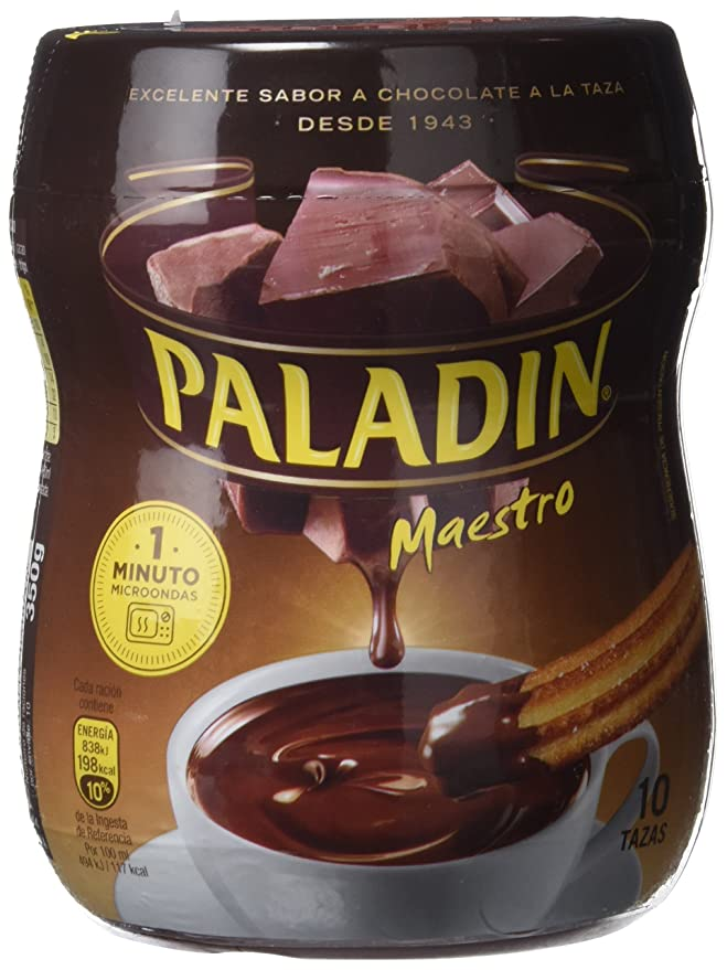 Paladin Chocolate A La Taza - 350 gr: Amazon.es ...