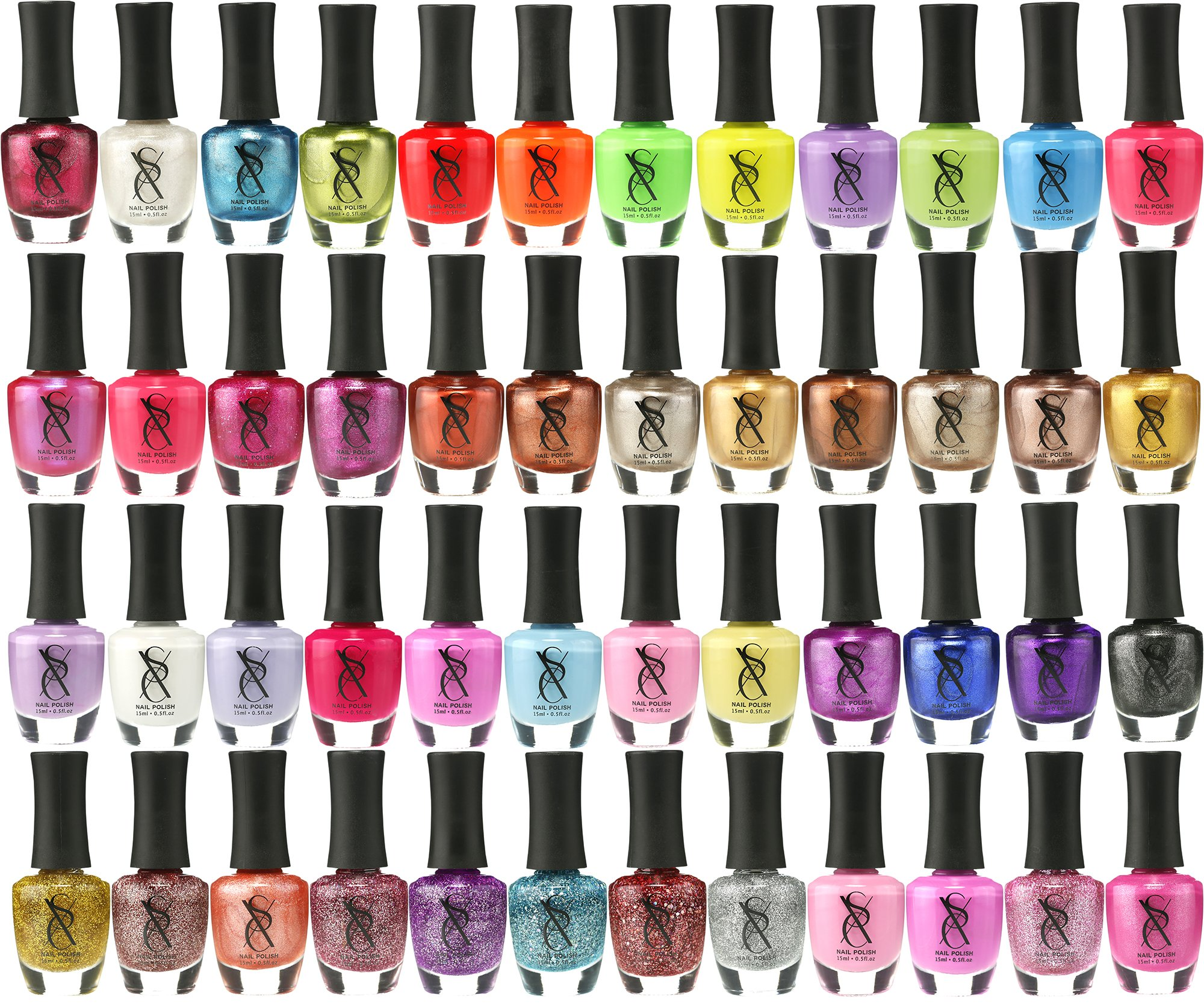 Amazon.com: Emori (TM) All About Nail 50 Piece Color Nail