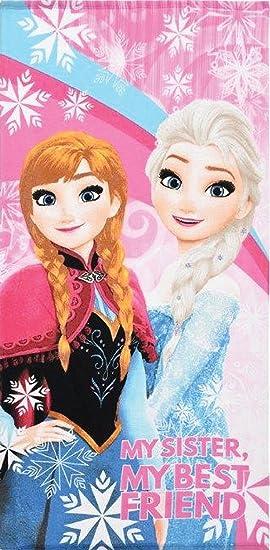Reine des Neiges Frozen - Toalla de baño - toalla de playa Disney Frozen 100% microfibra: Amazon.es: Hogar
