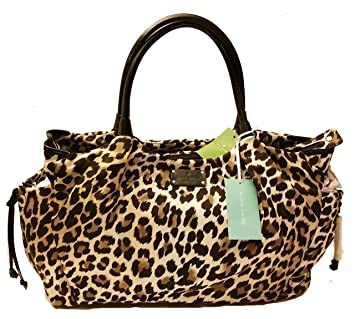Amazon.com   Kate Spade Copa cabana Stevie Baby Bag, Leopard print nylon    Baby 0faf059f46