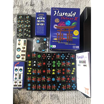R & R Games Hanabi Deluxe II, Mixed Colours: Toys & Games