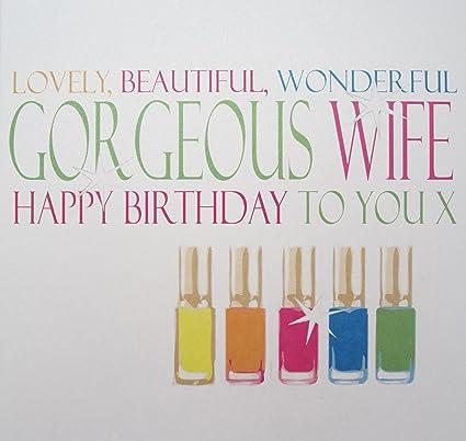 White Cotton Cards - Tarjeta de cumpleaños, diseño de