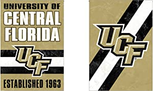WinCraft University of Central Florida UCF Knights Garden Flag, Vintage Distressed Edition 12.5 x 18 inches 2 Sided