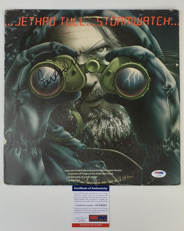 LEGEND!!! Ian Anderson JETHRO TULL Signed STORMWATCH Lp