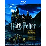 Harry Potter: The Complete 8-Film Collection [Blu-ray] (Bilingual)