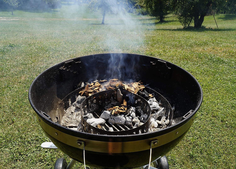 produce molto fumo XL Premium BBQ Carbonella//trucioli per affumicatura per un aroma particolare 100/% legno naturale per un gusto unico