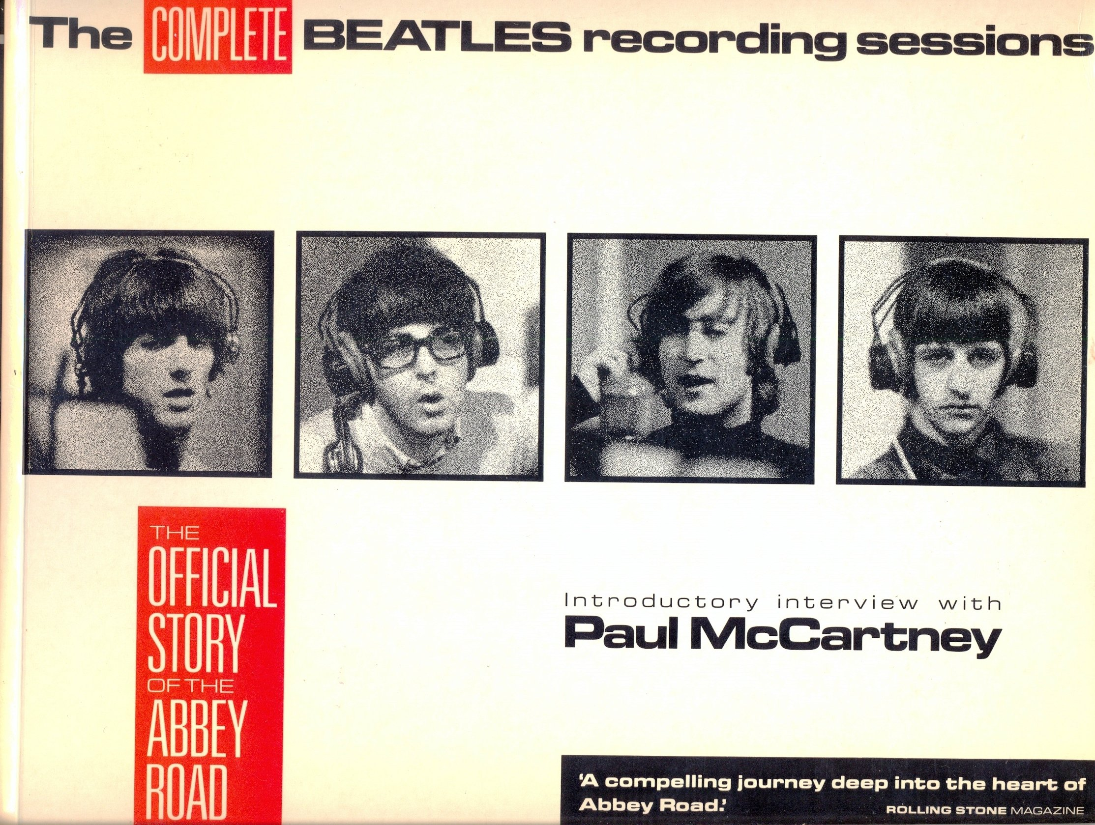 """Complete """"Beatles"""" Recording Sessions: The Official Story of the ..."""