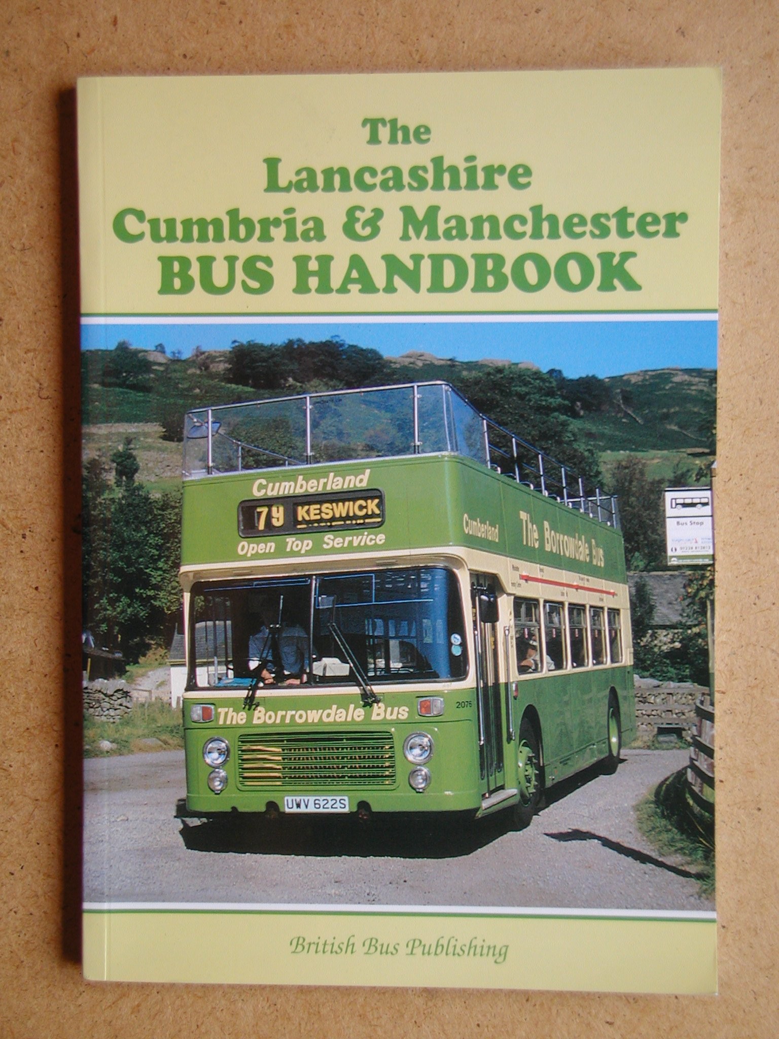 The Lancashire, Cumbria and Manchester Bus Handbook