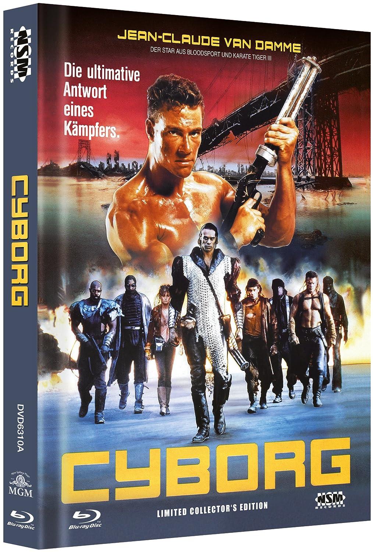 Cyborg - uncut Blu-Ray+DVD auf 999 limitiertes Mediabook ...