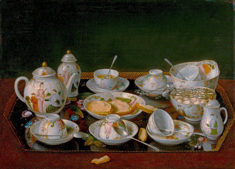 Still Life : Teaセット – jean-étienne Liotard – Unframed 20